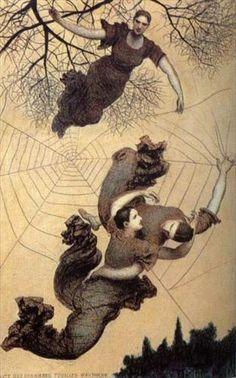 Autumn - Xavier Mellery  Belgian, 1845 - 1921