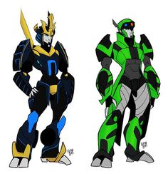Drift and Crosshairs ^-^---They're redesigns are always SO CUTE