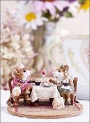 "Tea with Tillie | 1.12"" x 2.25"" | Cassandra Zampini Photography"