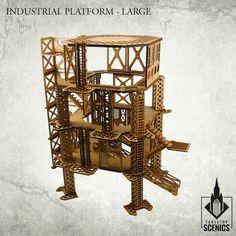 Industrial Platform - Large - Bits of war