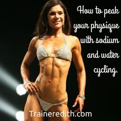 Ever wonder how fitness models and movie star look so incredibly shredded? We water deplete with this protocol.