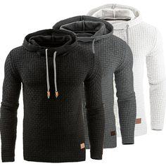 Autumn/winter 2017 new European and American men's wear long sleeve hoodie and hoodie jacket
