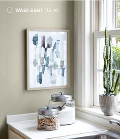 Behr Color Trends 2018 Color Sample Wabi-Sabi T18-10