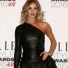 Rosie Huntington-Whitely with delicate waves