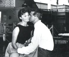 Sophia Loren and Cary Grant, Houseboat