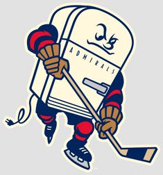 Milwaukee's minor league hockey team has unveiled an awesome new logo — with a complicated backstory. Basketball Videos, Soccer News, Basketball Teams, College Basketball, Hockey Memes, Hockey Logos, Sports Logos, 50th Anniversary Logo, Milwaukee Admirals