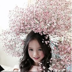 Ulzzang Fashion, Korean Fashion, Kids Fashion, Mixed Models, Hair Jewels, Angelababy, Cute Kids, How To Look Better, Photo And Video