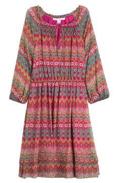 DIANE VON FURSTENBERG Printed Silk Dress. #dianevonfurstenberg #cloth #day dresses