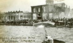 ΣΜΥΡΝΗ 1922 Vintage Photography, Historical Photos, Niagara Falls, Old Photos, Greece, Asia, History, World, Artwork