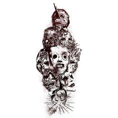 Картинки по запросу slipknot ART