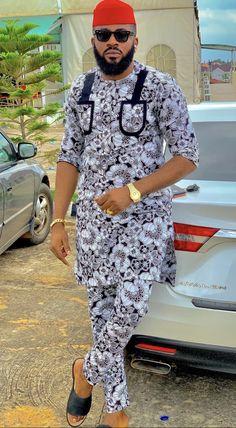 African Dresses Men, African Attire For Men, African Clothing For Men, African Shirts, African Men Fashion, Casual Wear, Men Casual, Native Wears, Men Design
