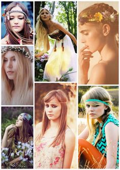 hippie hair for wedding