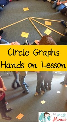 Give your students a hands on introduction to making circle graphs with this fun math and literature connection!
