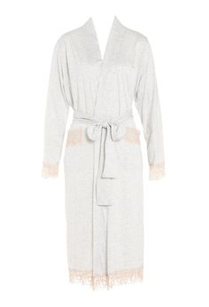 Image for Lace Trim Gown from Peter Alexander