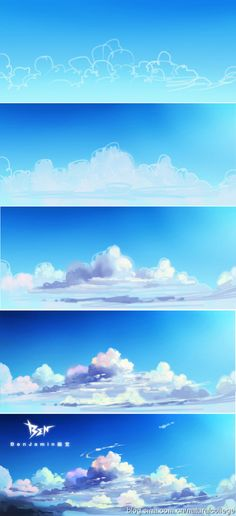 Cloud and sky tutorial