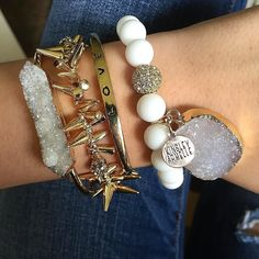 #Repost @kinsley.armelle.maggie  super excited to share with you guys the stack I got today I'm completely in love!  use the code 'MAGGIEM15' to get 15% off your purchase! link in bio!