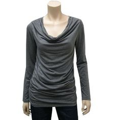 New in stocked, Ruched long sleeve tops. $19.99