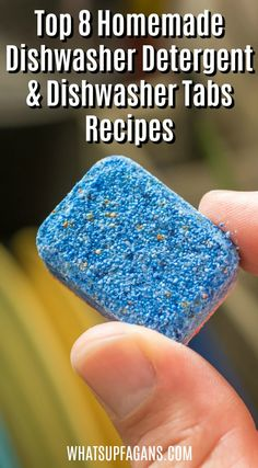 Cleaning Tips & Tricks DIY homemade dishwasher detergent Deep Cleaning Tips, House Cleaning Tips, Spring Cleaning, Homemade Cleaning Products, Cleaning Recipes, Cleaning Hacks, Cleaning Supplies, Cleaning Solutions, Dishwasher Tabs