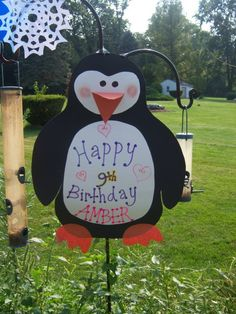 Penguin Birthday Party