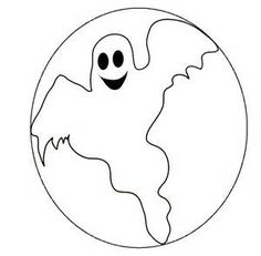 Coloring Little Ghost Coloring Pages Art Ideas For My Class on Kids ...