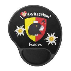 Genf / Genève Schweiz Suisse Svizzera Mausmatte Gel Mousepads