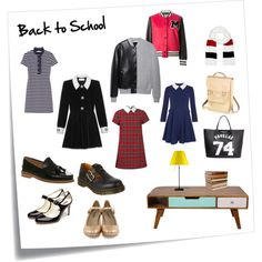 """Back to School: a preppy style, like we have to study again!"" by blackblazerblog on Polyvore #preppy #style #outfit #fashion #school"