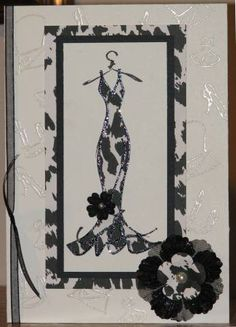 B&W Haute Couture by Big Red Scraps - Cards and Paper Crafts at Splitcoaststampers