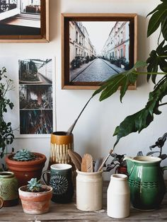 Treasured ceramic finds, a collection that will keep growing. #photo #collection #ceramic