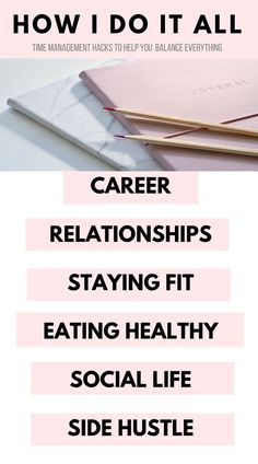 Trying to manage a bunch of things at once Whether its working full time eating healthy working out or spending time on your side hustle weve got you covered These helpf. Work Life Balance Tips, Time Management Tips, Working Moms, Working Mom Schedule, Self Development, Personal Development, Career Advice, Thing 1, Stay Fit