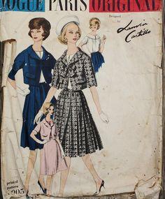 Vogue Paris Original Design Lanvin-Castillo by EleanorMeriwether