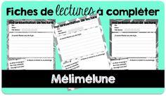 Fiche de lecture à compléter - Mélimélune
