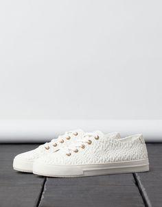Tennis en tissu BSK - Chaussures - Bershka France