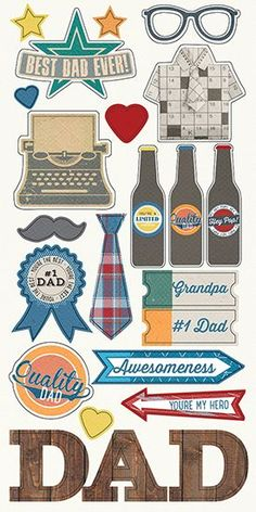 Simple Stories - Hey Pop Collection - Simple Sets - Cardstock Stickers - Fundamentals at Scrapbook.com