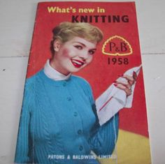 Whats New In Knitting  Vintage Patons & by VintageWantsNotNeeds