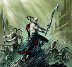 Warhammer Age of Sigmar Namarti Thralls Idoneth Deepkin Artwork http://wellofeternitypl.blogspot.com #artwork #art #aos #warhammer #ageofsigmar #sigmar #arts #artworks #gw #gamesworkshop #wellofeternity #wargaming #wallpaper