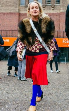 Lucinda Chambers knows how to have fun with this trend