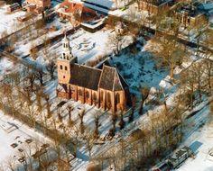 Kerk in de sneeuw | Pieterburen | Groningen