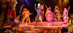 Festival of the Lion King is my all time favorite show in WDW.  It is located at Animal Kingdom and it's awesome!!