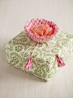 diy packaging rosa verde flores  pink green flowers regalos  miraquechulo