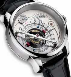 Greubel Forsey Invention Piece 1 - Why is this watch $800,000?!?   Love it though!