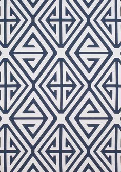 DEMETRIUS APPLIQUE, Grey, Collection Bridgehampton from Thibaut -Similiar items In stock now at local shop Annex of paredown, in Ann Arbor Navy Fabric, Woven Fabric, Chinese Fabric, Powder Room Wallpaper, Chinoiserie Wallpaper, Colourful Living Room, Applique Fabric, Bath Girls, Graphic Patterns