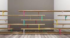 unalibreria — Teste di legno -DIY bookshelves with ikea brackets