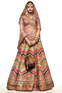 Lehnga Dress, Nikkah Dress, Lehenga Choli, Lehenga Skirt, Indian Bridal Outfits, Indian Dresses, Bridal Dresses, Bridal Lehenga Collection, Sabyasachi Collection