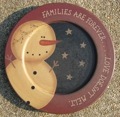 Product Listing - snowmanplate