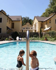 Channeling pool days like this amazing spot at @farmhouseinn today. Happy Sunday who else will be hitting up the pool?  #pool #poolside #pooltime #sonoma #farmhouse_inn #kidstagram #kidsofig #ardenjosephine #conradarthur #CopyCatChic @sonomacounty