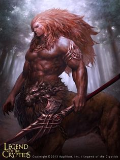 Artist: Se-min Lee aka horsee - Title: Unknown - Card: Silvestre, King of Beasts