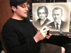 How to airbrush portraits, with Jaime Rodriguez