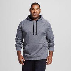 Men's Big & Tall Sizes Tech Fleece Pullover Hoodie Dark Gray 3XL - C9 Champion, Size: Xxxl, Charcoal Heather