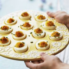 Recipes | Truffled Deviled Eggs | Sur La Table