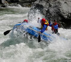 Rafted down Skykomish River in Washington State and almost died.  This marked the end of rafting adventures for us.